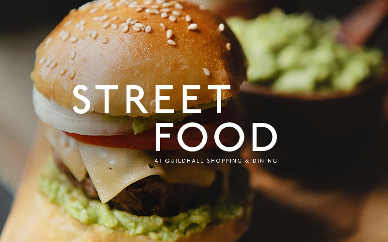 Street Food at Guildhall Shopping & Dining