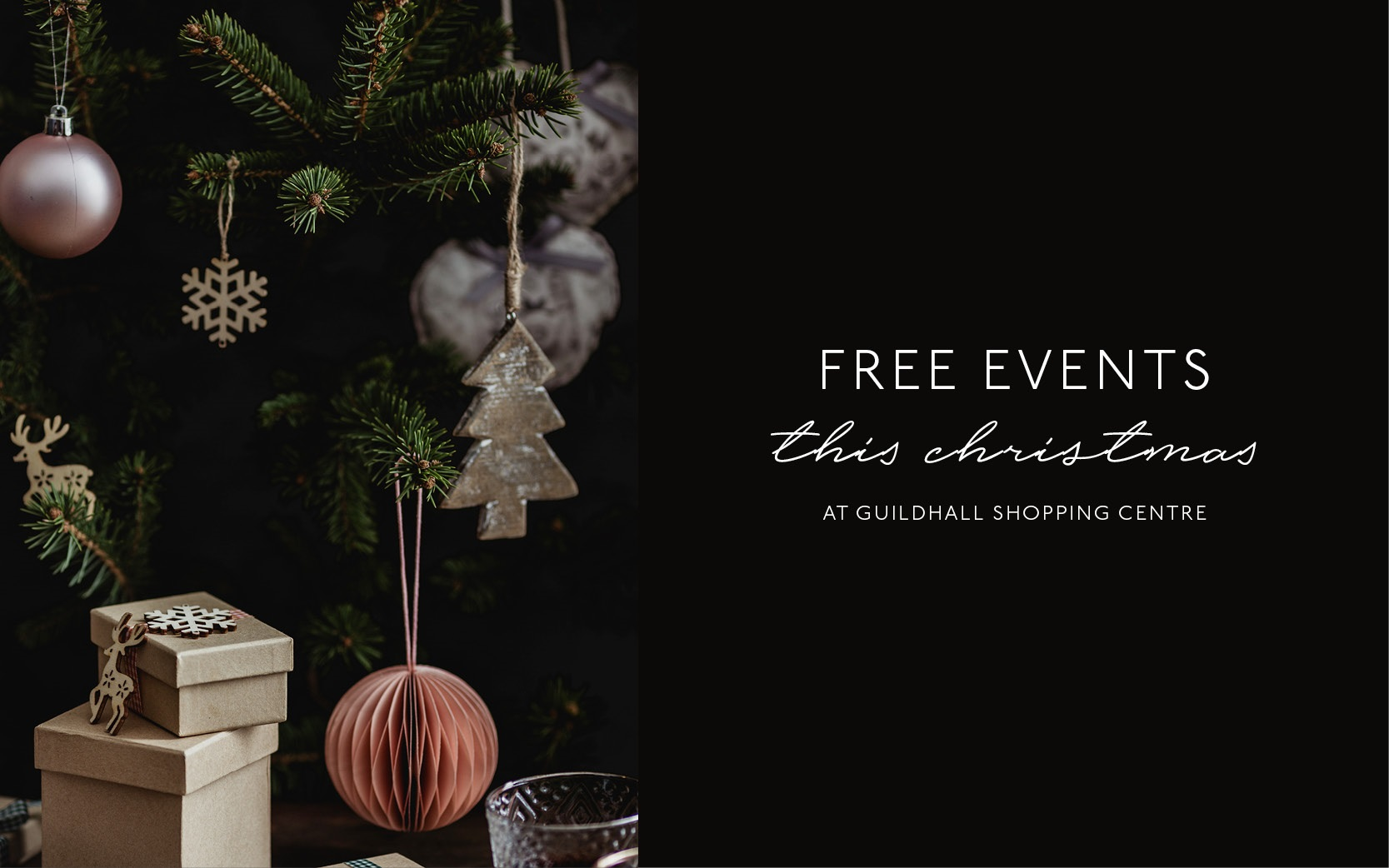 FREE EVENTS THIS CHRISTMAS CHRISTMAS